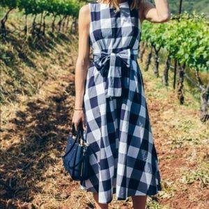 Ann Taylor Gingham Dress